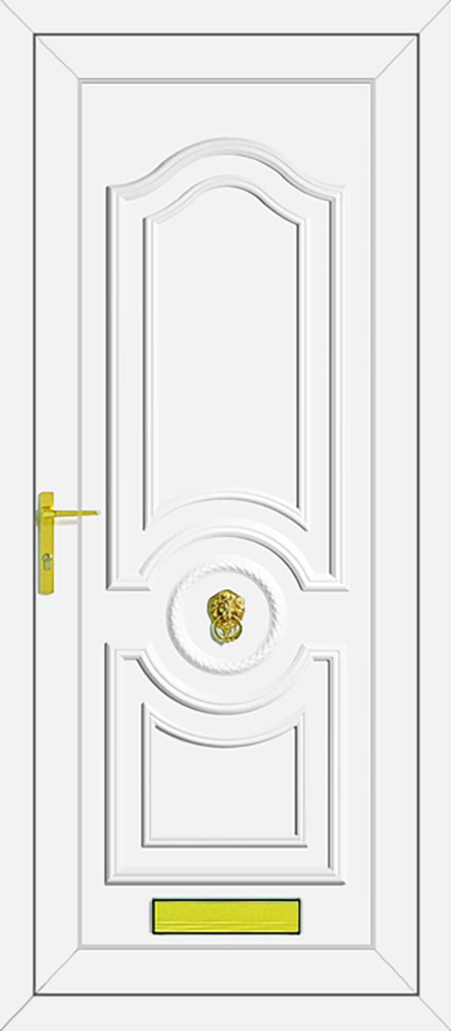 Buckingham Solid UPVC Door