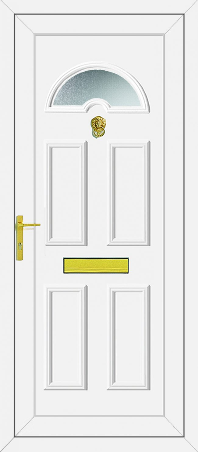 Carter 1 Glazed UPVC Door