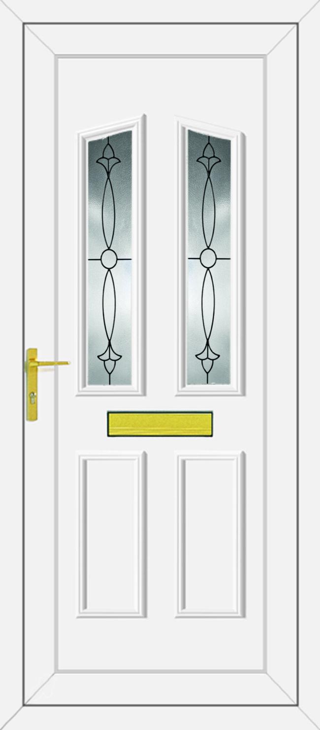 Clinton 2 Impression UPVC Door