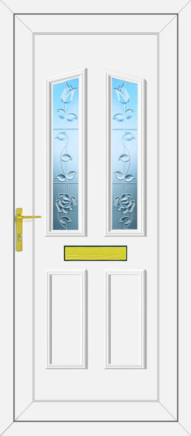 Clinton Hollywood Clear UPVC Door