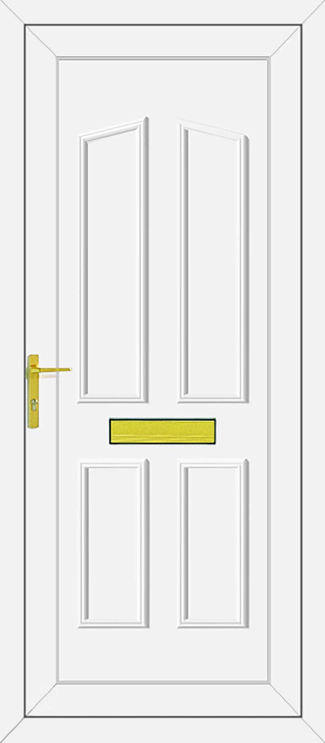 Clinton Solid UPVC Door