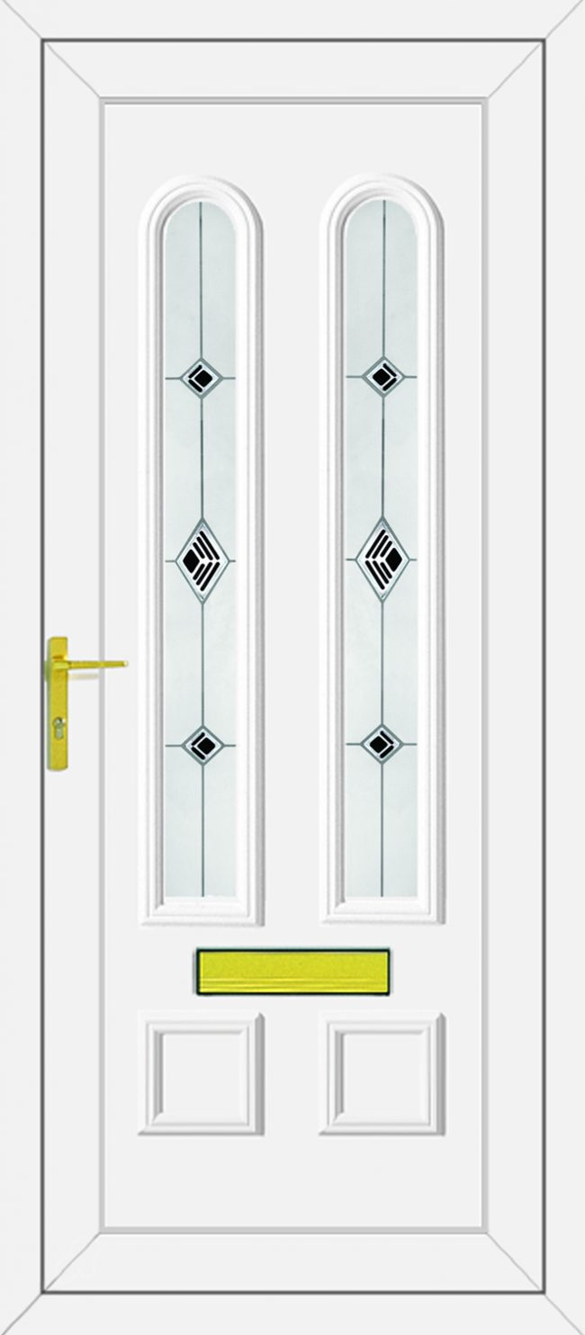 Grant Black Fusion UPVC Door