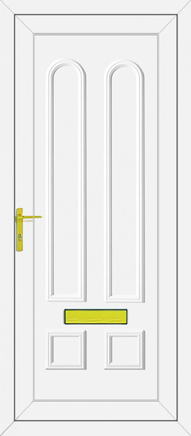 Grant Solid UPVC Door