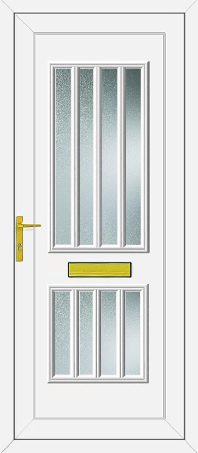 Harding Glazed UPVC Door