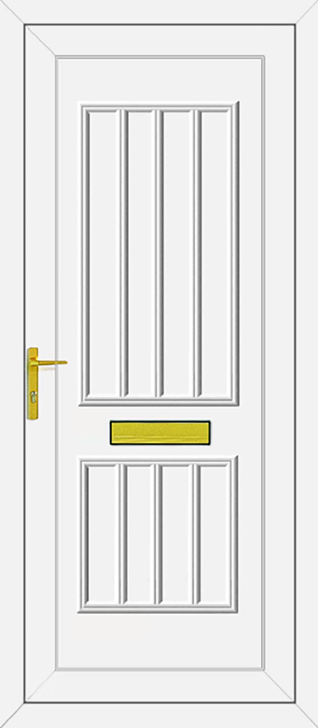 Harding Solid UPVC Door