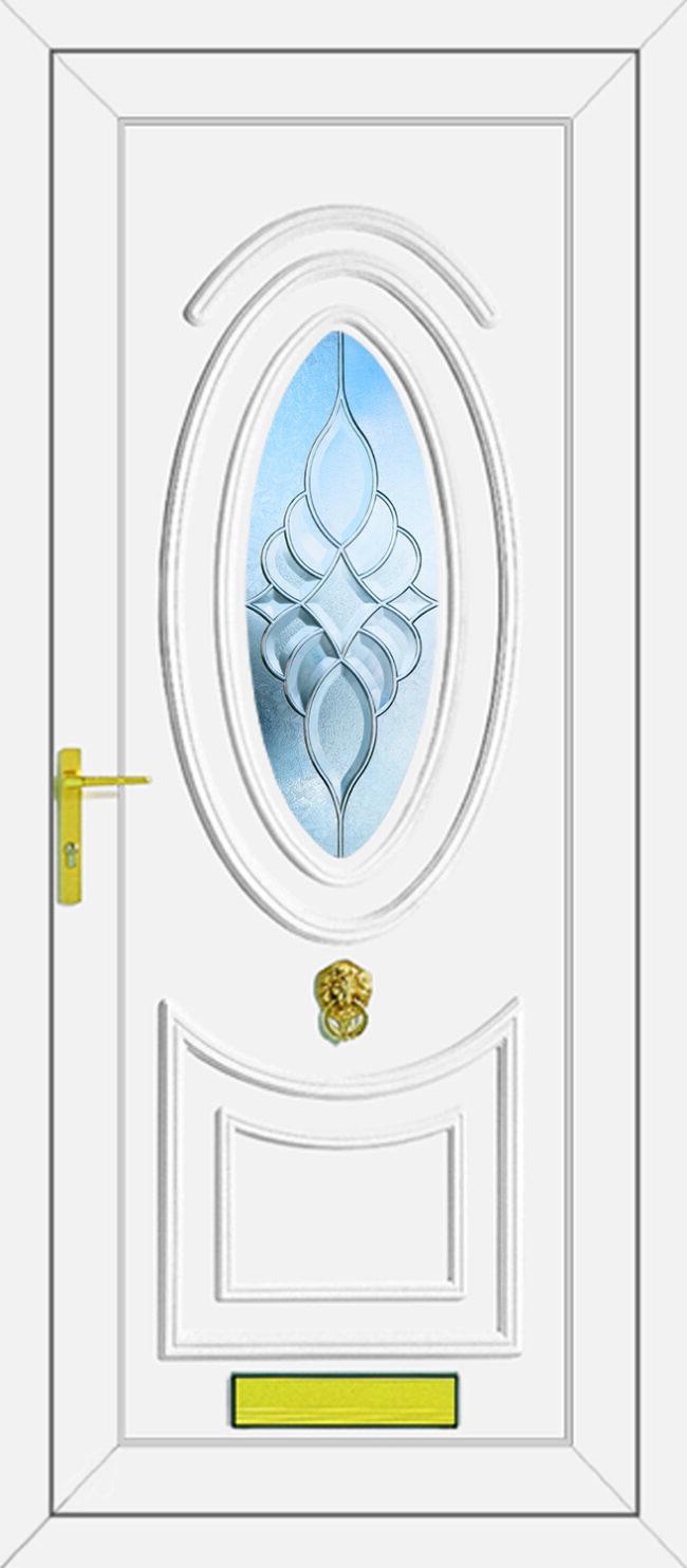Jefferson Dream Clear UPVC Door