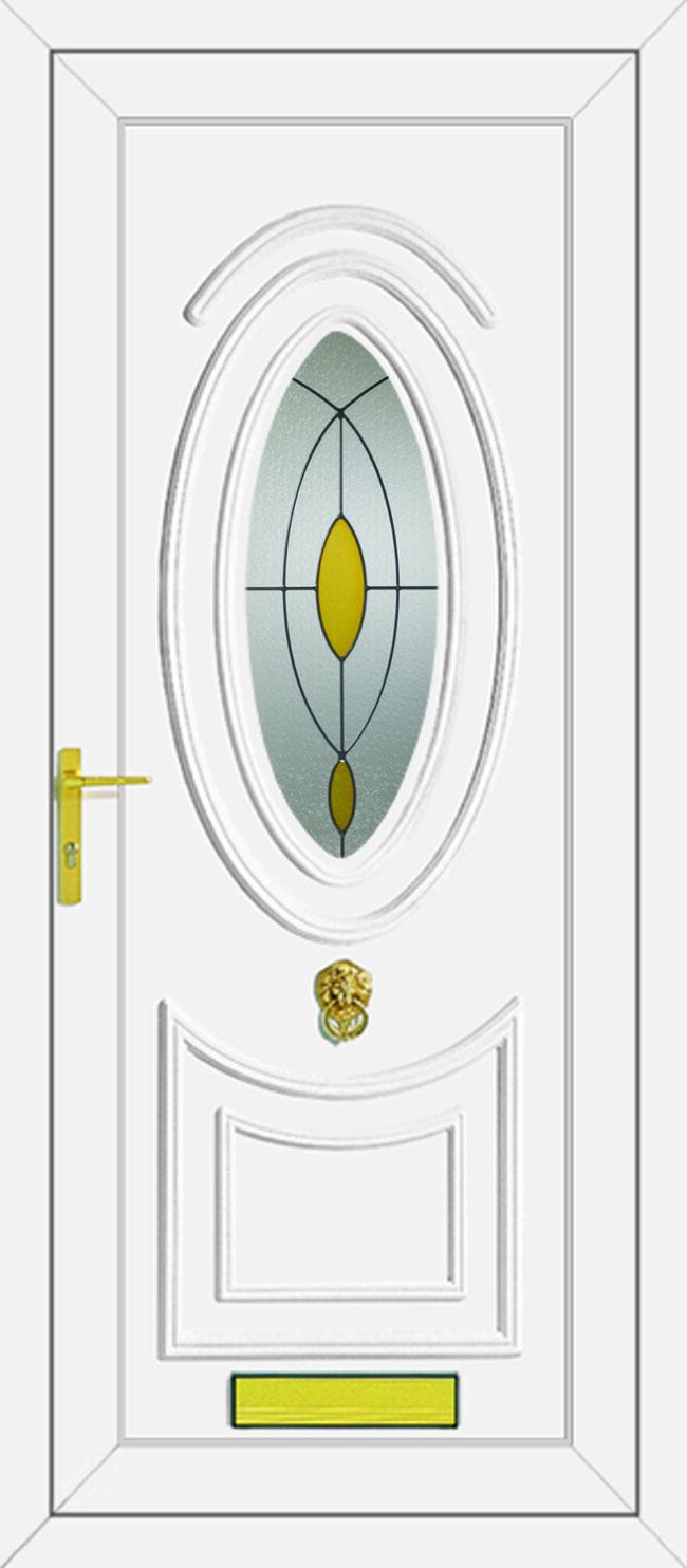 Jefferson Pearl UPVC Door