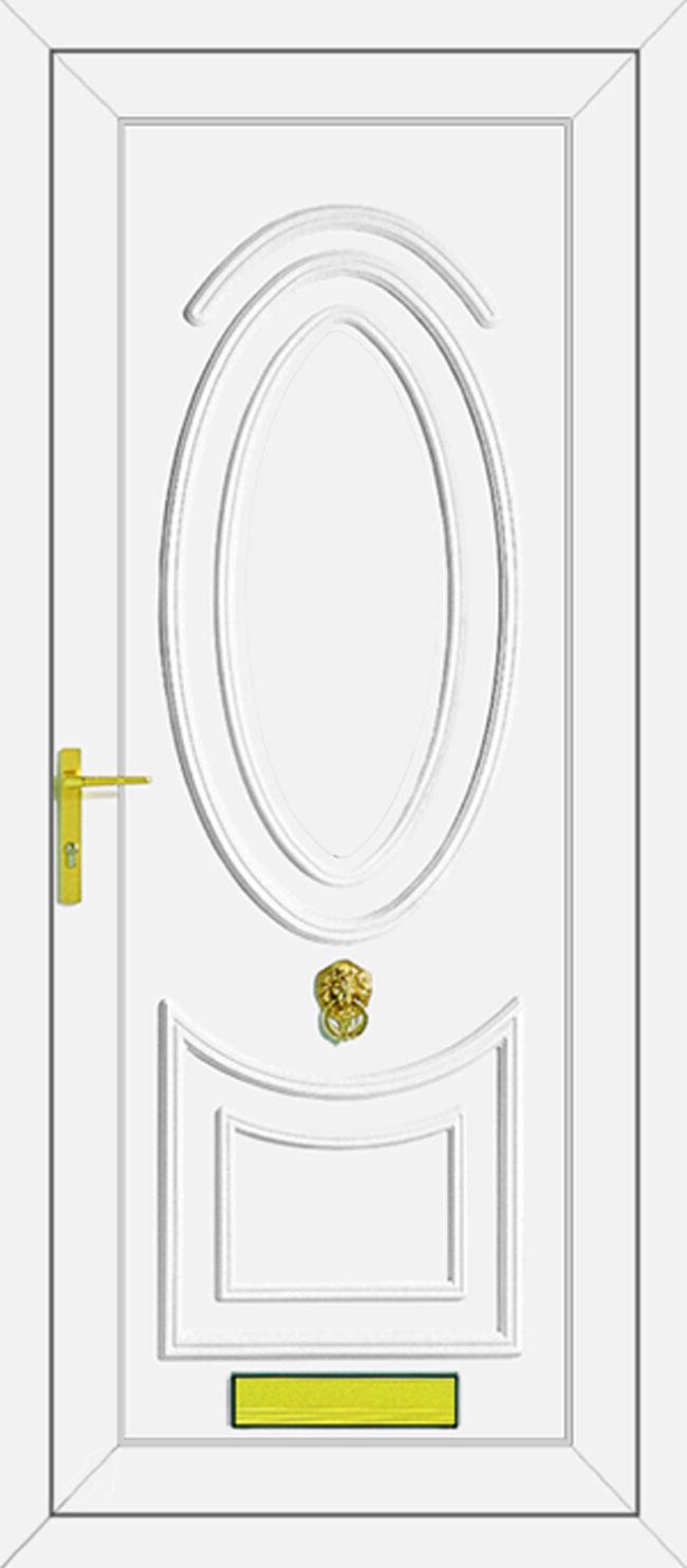 Jefferson Solid UPVC Door