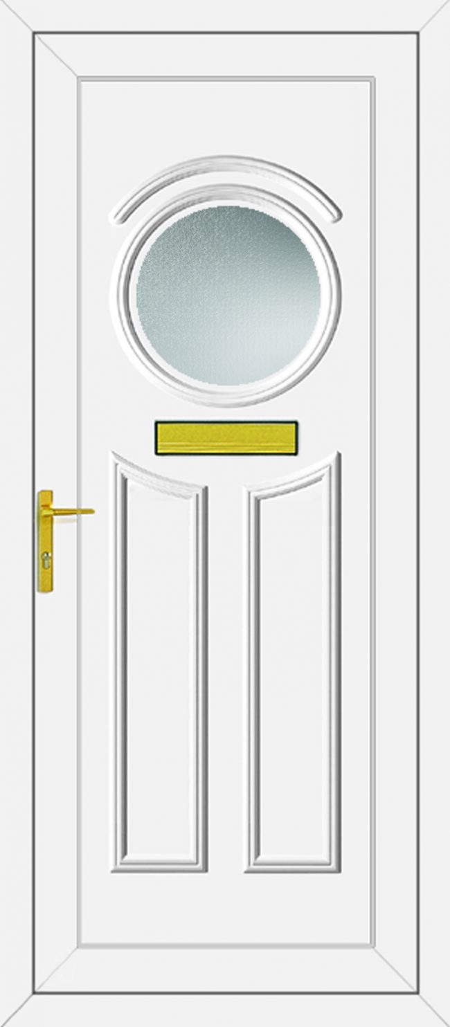 Minova Glazed UPVC Door