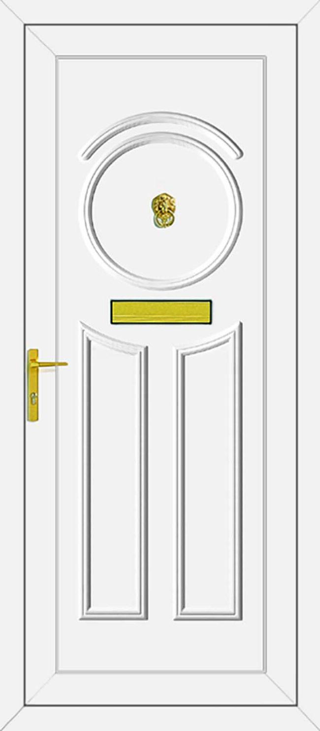 Minova Solid UPVC Door
