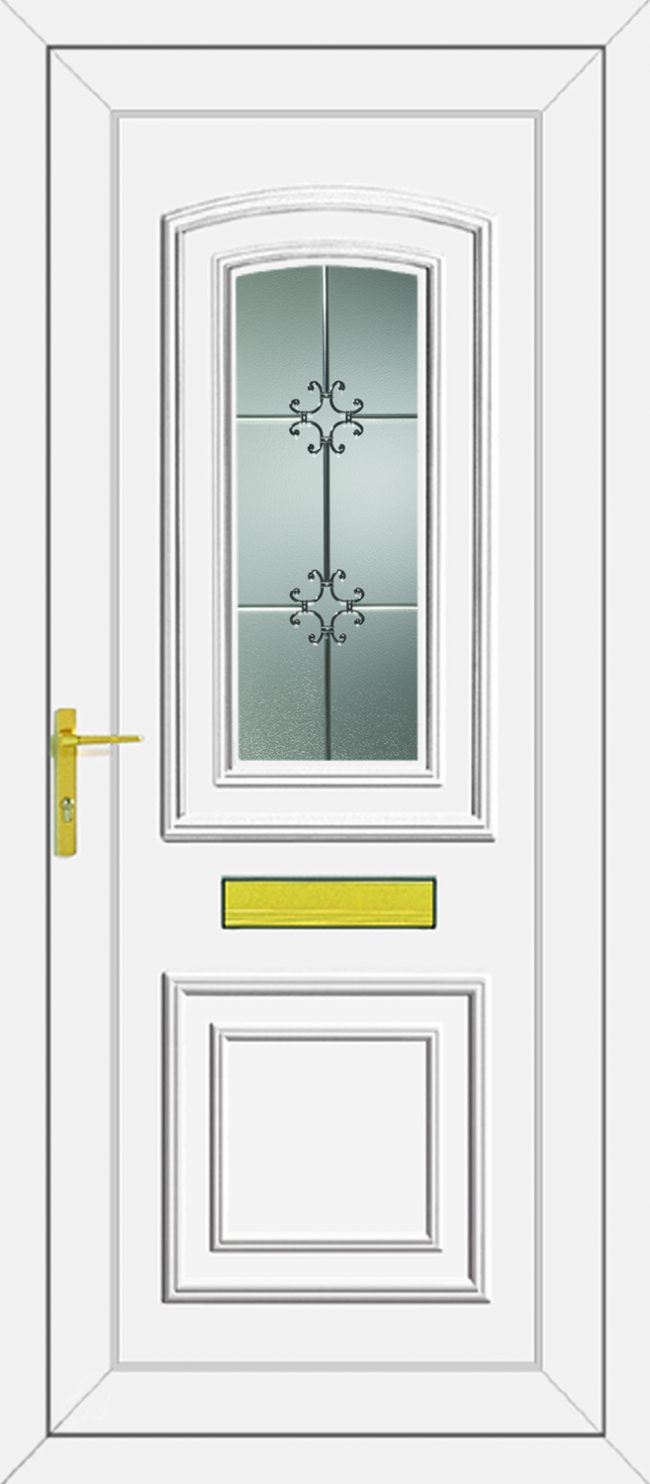 Reagan Crystal UPVC Door