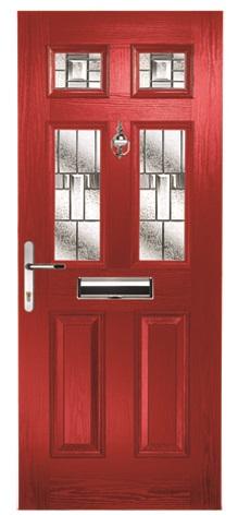 Rufford 4 Prairie Zinc Red