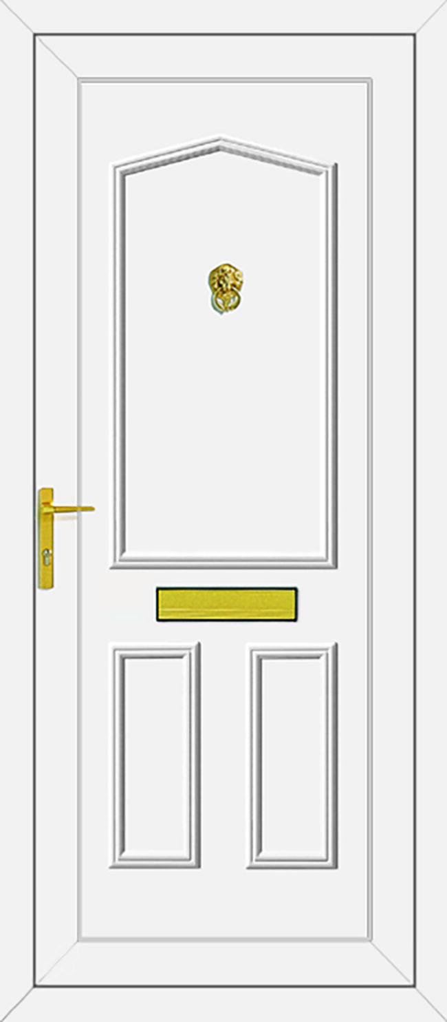 Taft Solid UPVC Door