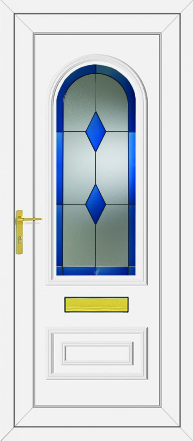 Truman Blue Diamond UPVC Door