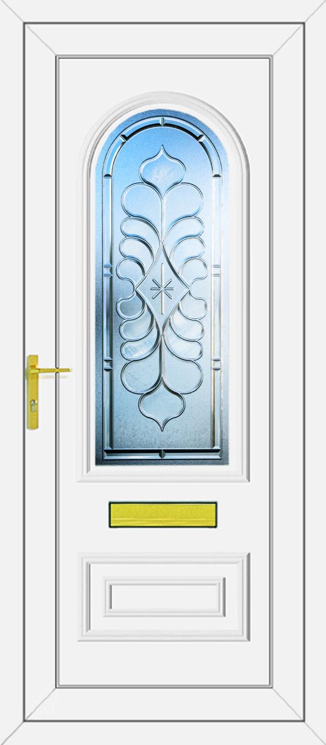 Truman Legend Clear UPVC Door