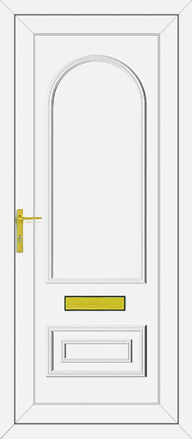 Truman Solid UPVC Door