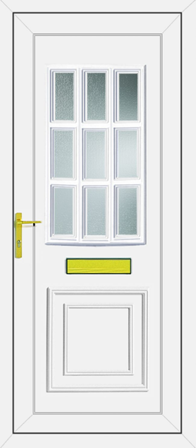 Tyler Glazed UPVC Door