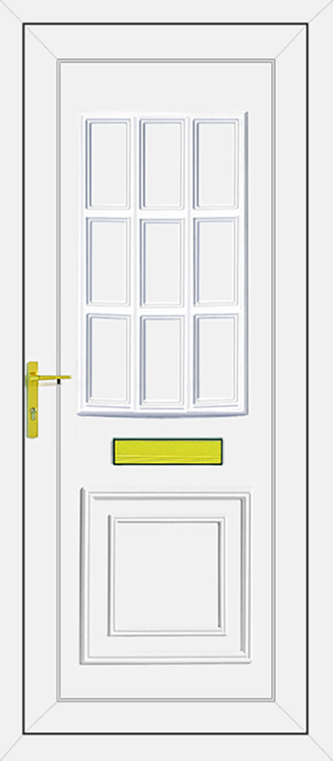 Tyler Solid UPVC Door