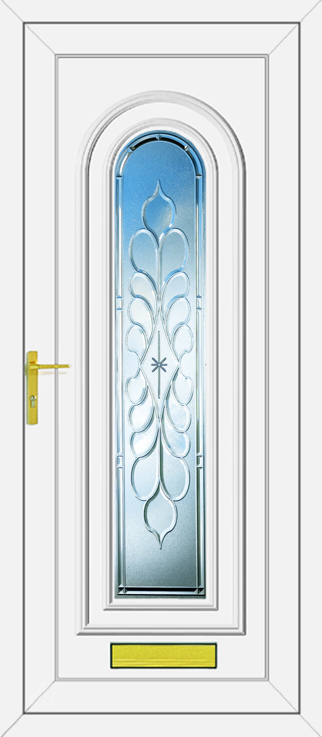 Washington Legend Clear UPVC Door