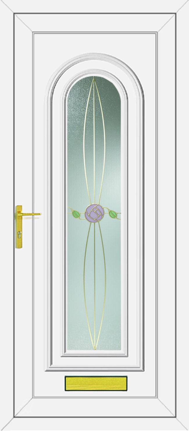 Washington Rennie Two UPVC Door