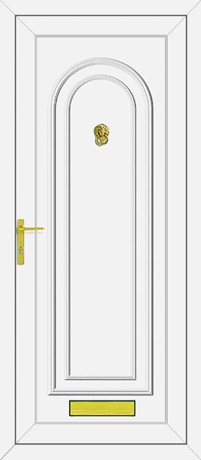 Washington Solid UPVC Door