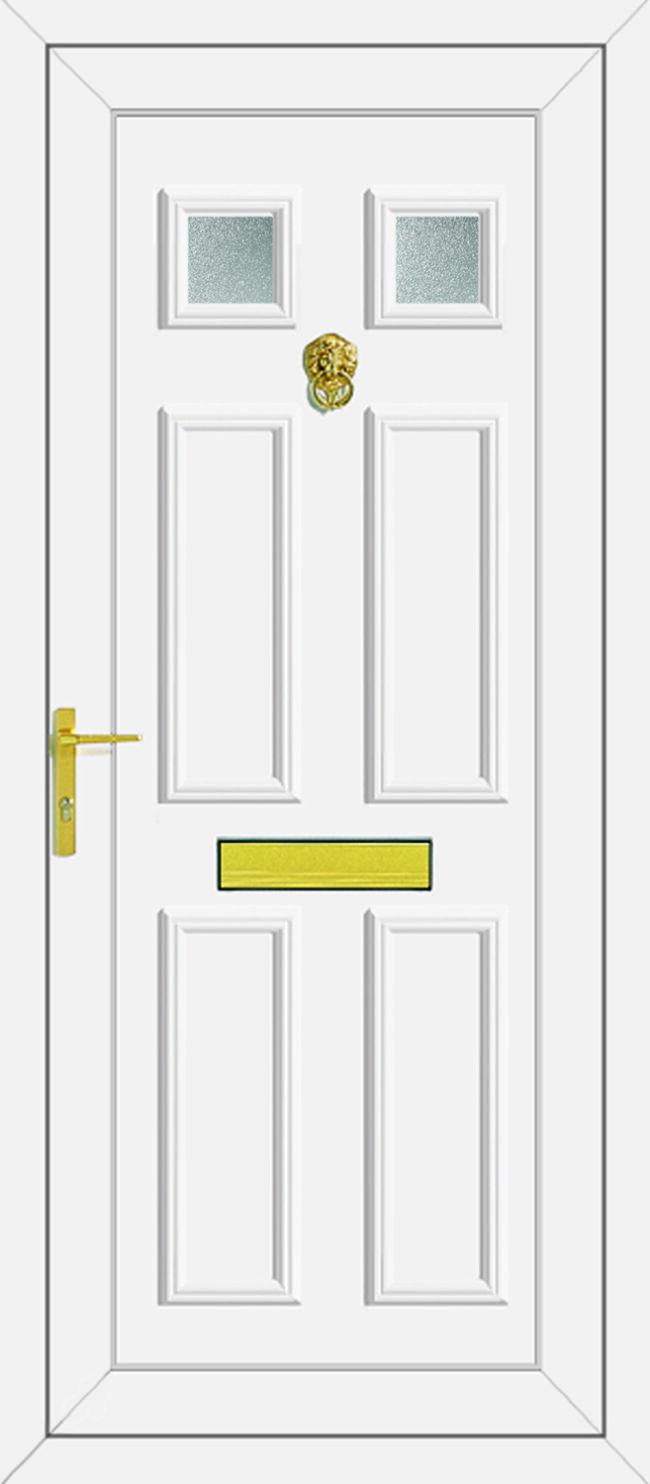 Wilson 2 Glazed UPVC Door