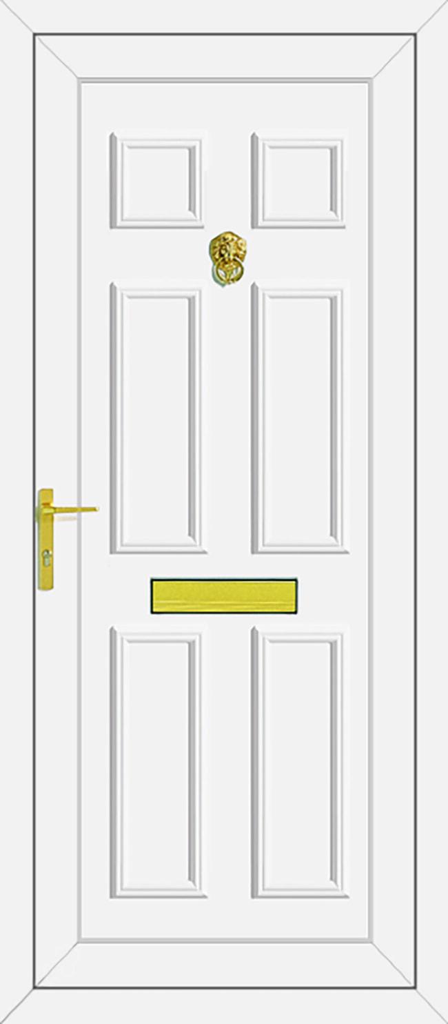 Wilson Solid UPVC Door