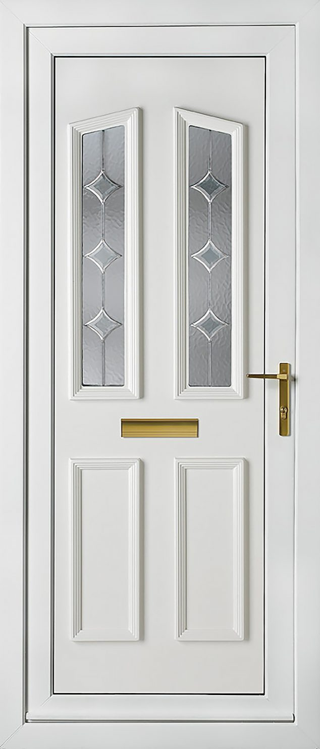 Kensington 2 Astral Diamond UPVC Door
