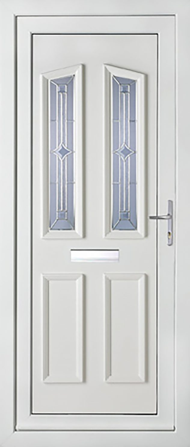 Kensington 2 Platinum Legacy UPVC Door