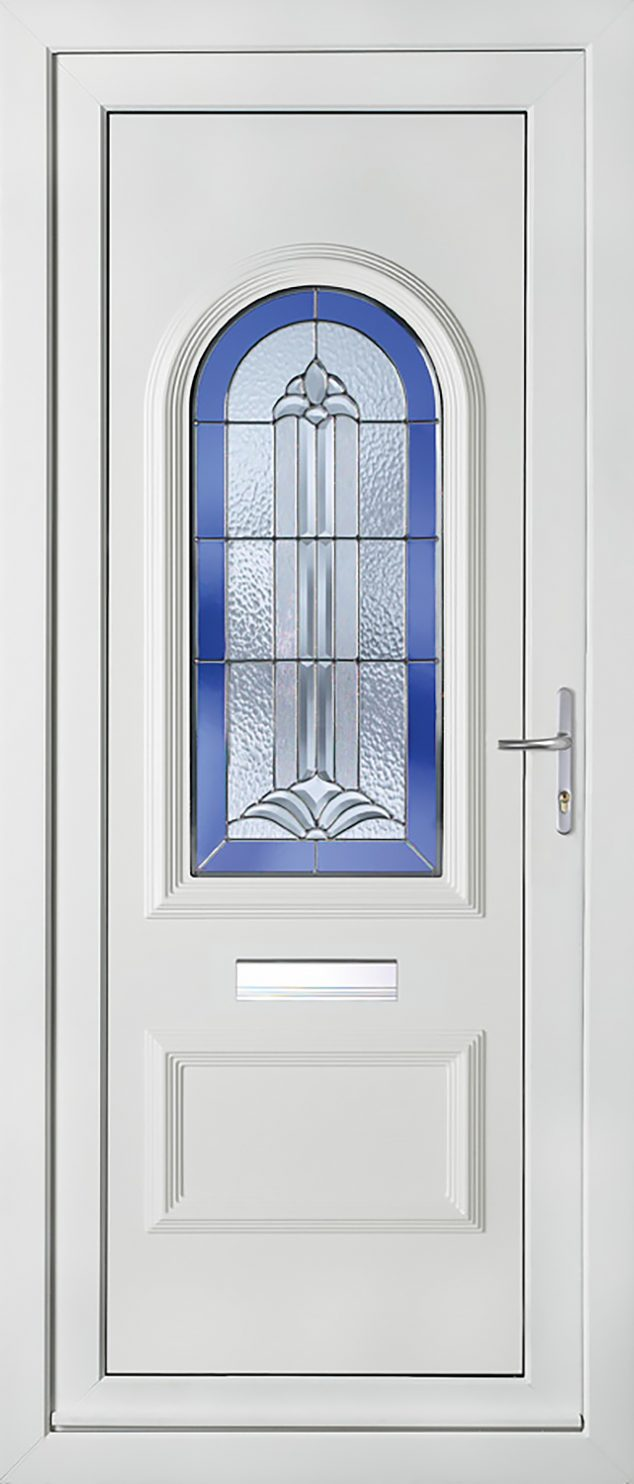 Rockingham 1 Platinum Fantasy UPVC Door