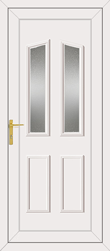 Clinton Glazed UPVC Back Door