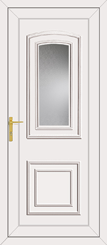 Reagan Glazed UPVC Back Door