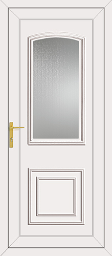 Roosevelt Glazed UPVC Back Door
