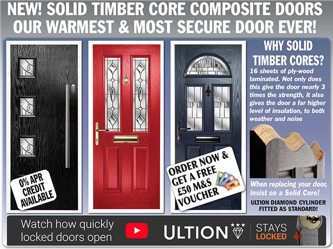 best service 3ed0f 45933 Composite Door Styles From The UPVC Company