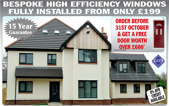 UPVC Windows Special Offers October