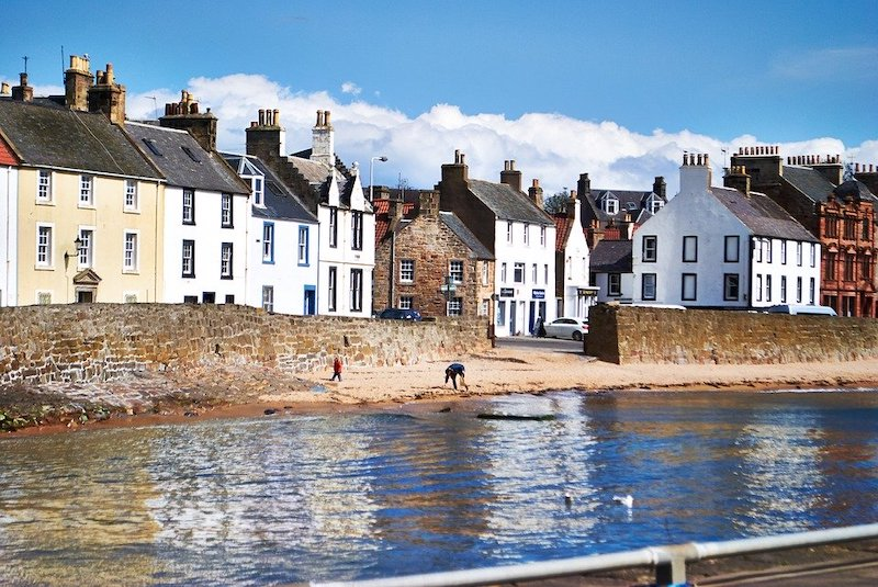 Coastal Town in Fife, Scotland