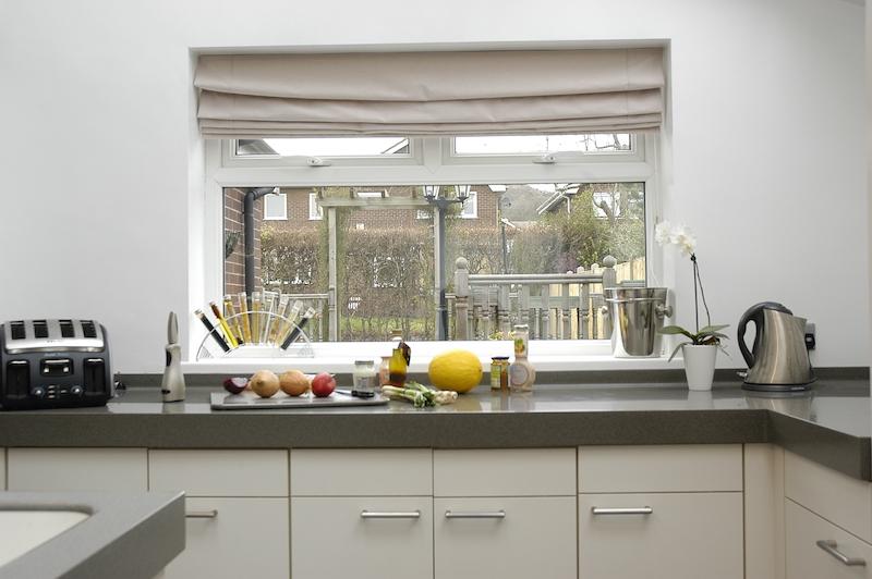 UPVC Window in a Kitchen