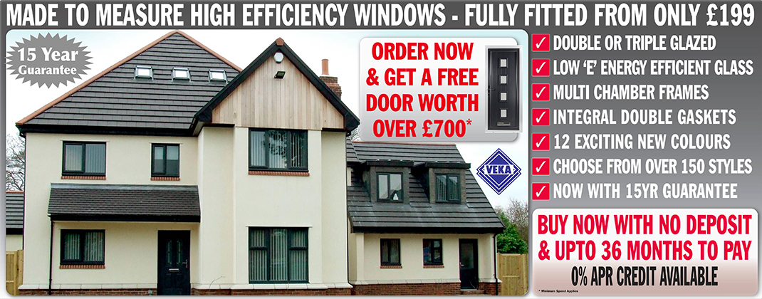 Double Glazing April Offer