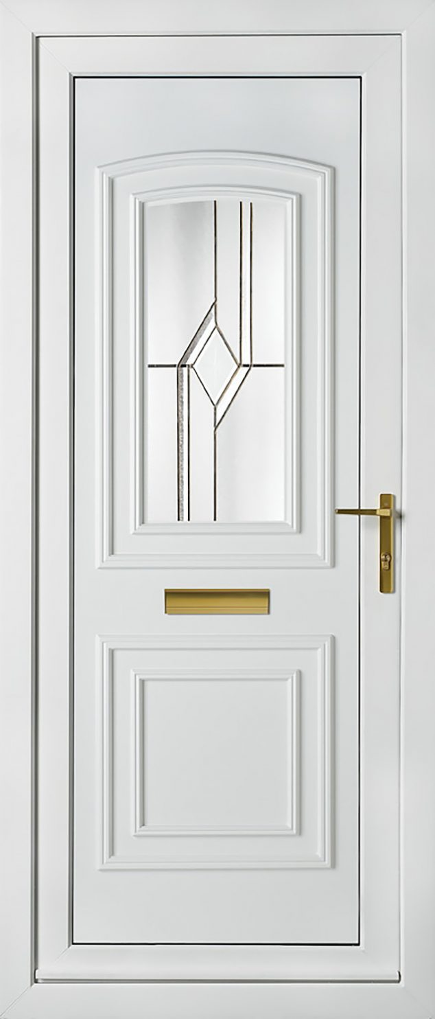Balmoral 1 Astral Diamond Bevel UPVC Door