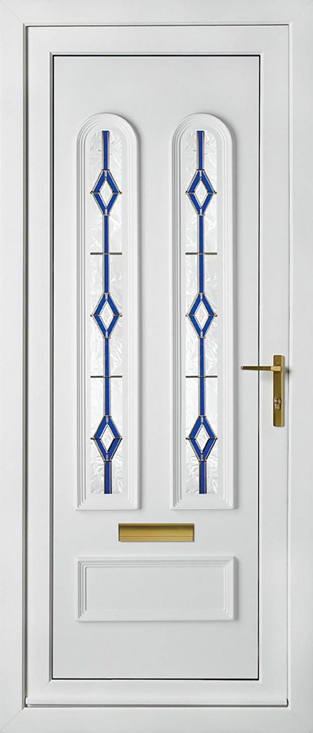 Madrid Two Astral Pisces UPVC Door