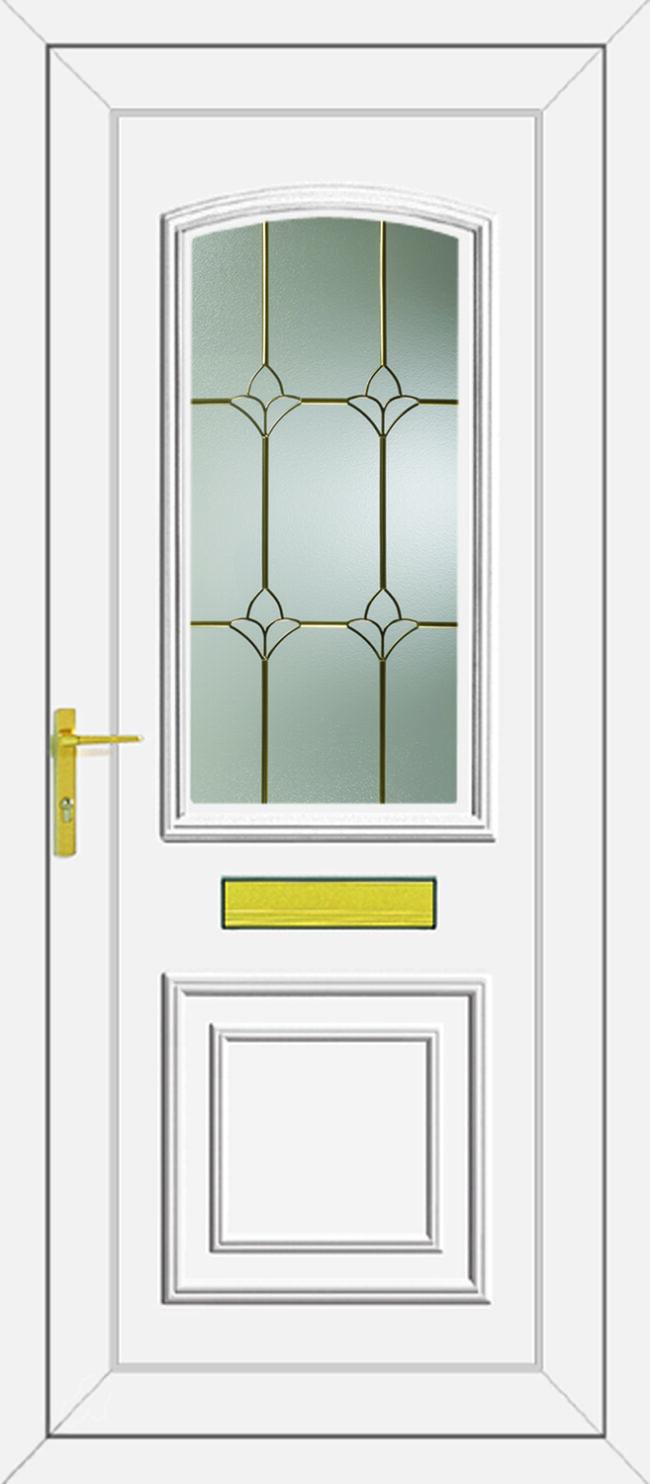 Roosevelt Carver UPVC Door