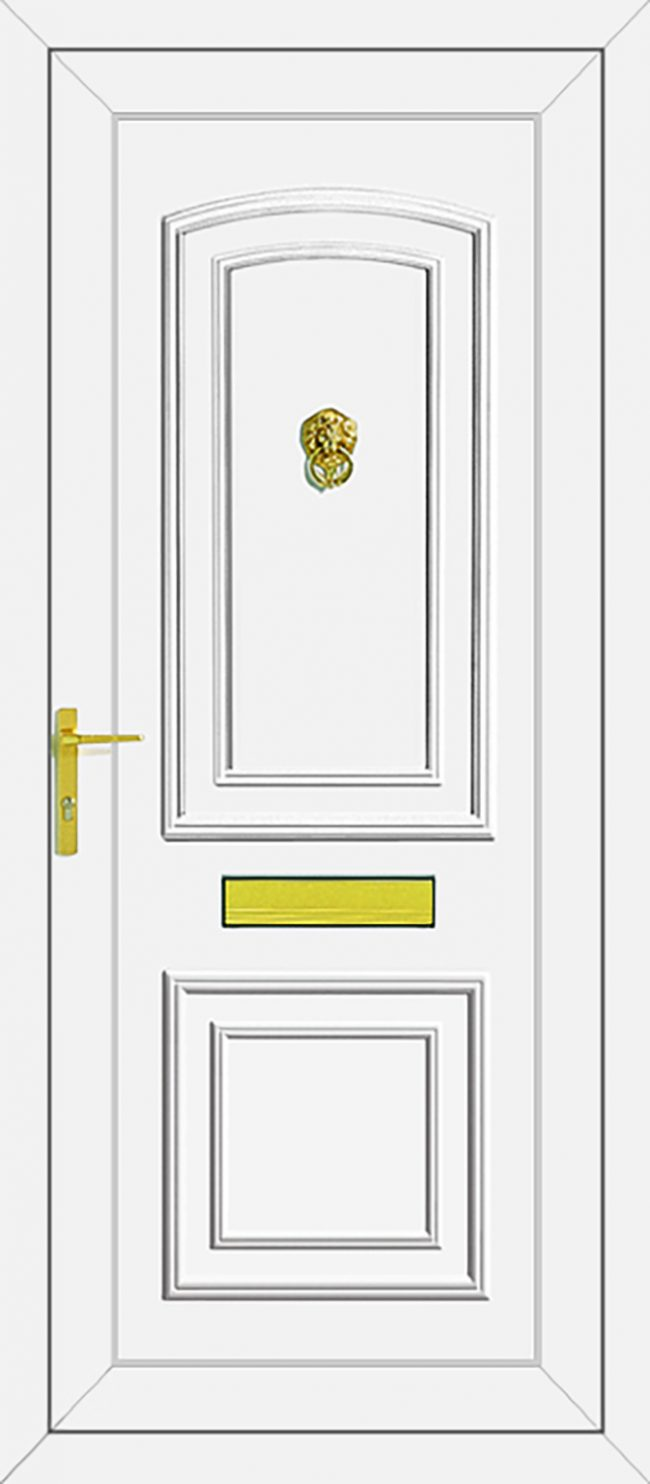 Roosevelt Solid UPVC Door