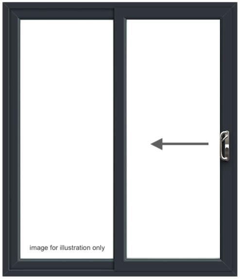 PD7 Patio Door – Right to Left