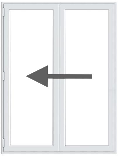2 Pane BiFold Doors