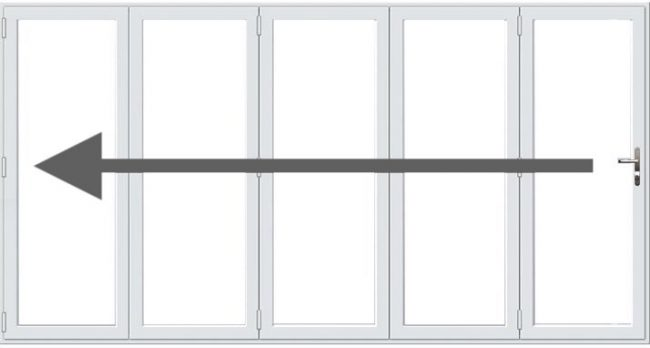 5 Pane Bifold Doors