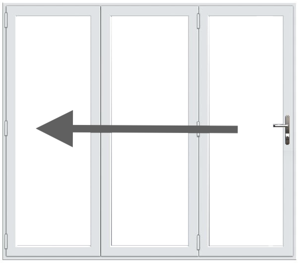 3 Pane Bifold Doors