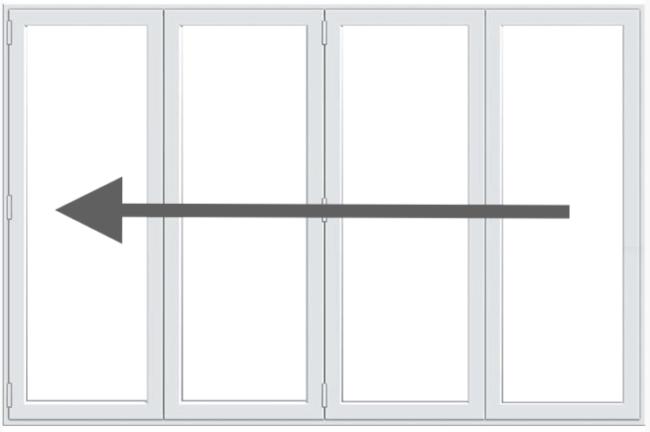 4 Pane Bifold Doors