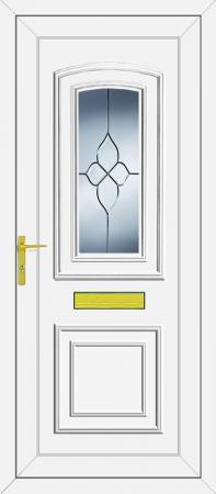 Reagan Cluster UPVC Door