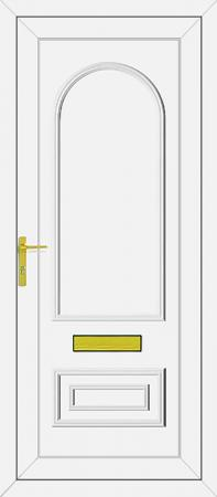 Truman Solid UPVC Door