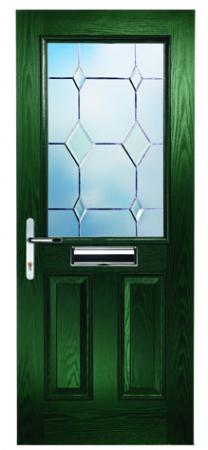 Clumber Clear Bevels Green